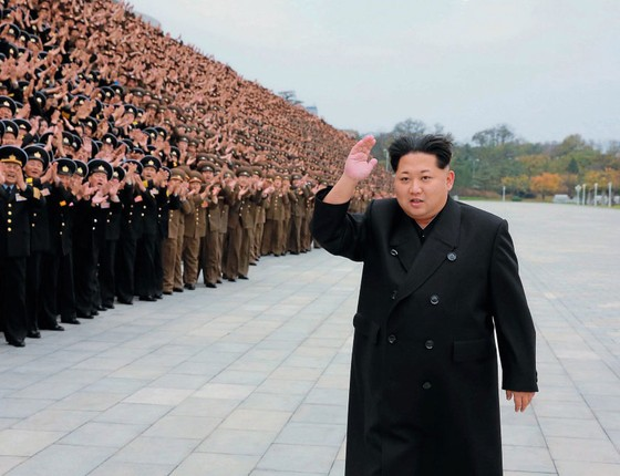 Trump e presidente chinês ao telefone sobre Coreia do Norte