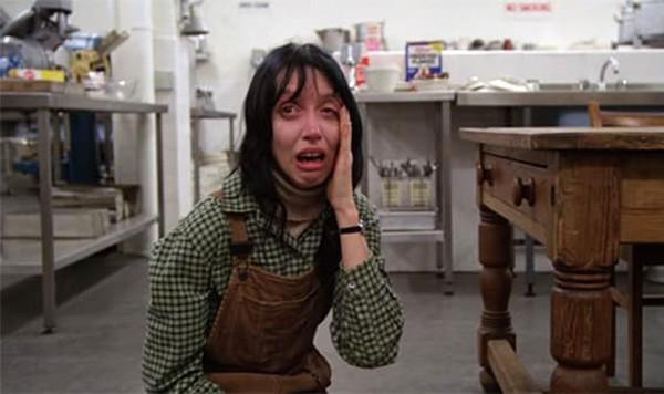 Shelley Duvall em 'O Iluminado' (1980) (Foto: Divulgação)