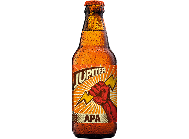 Cerveja Júpiter American Pale Ale (Foto: Divulgação)