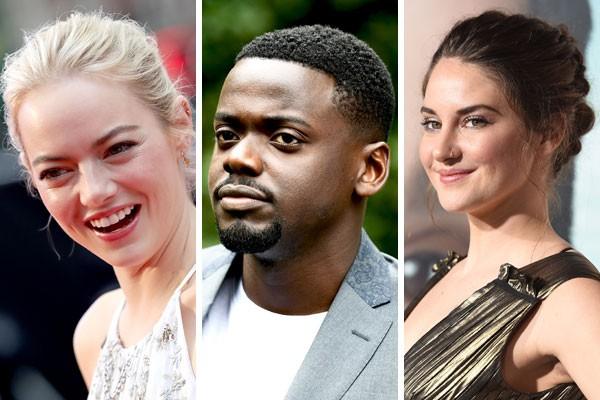 Emma Stone, Daniel Kaluuya e Shailene Woodley já se destacam no Globo de Ouro e ainda nem assopraram as 30 velinhas de ainiversário (Foto: Getty Images)