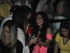 Graciella Carvalho curte show do Jota Quest em clima de romance