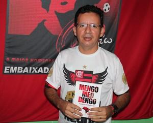 Lançamento Mengo meu dengo (Foto: Henrique Almeida)
