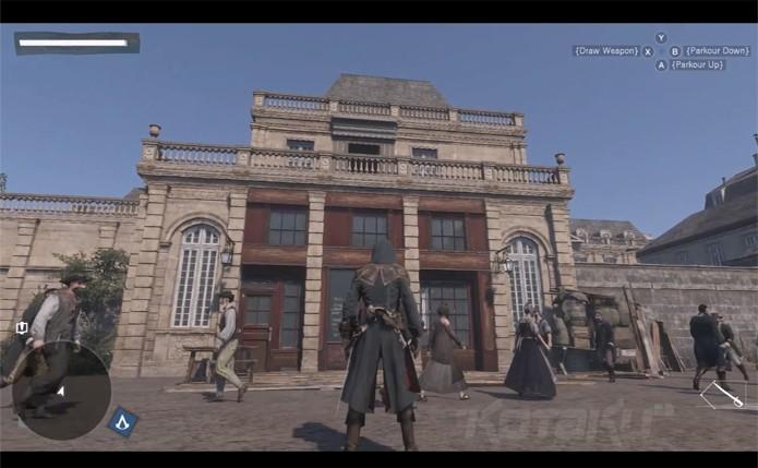 Vestimentas dos personagens denotam a época do jogo (Foto: Kotaku)