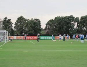 Jogadores Palmeiras treino (Foto: Gustavo Serbonchini)