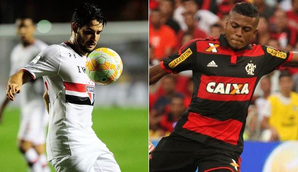 Tricolor paulista enfrenta o Flamengo na estreia pela Campeonato Brasileiro (Foto: globoesporte.com)
