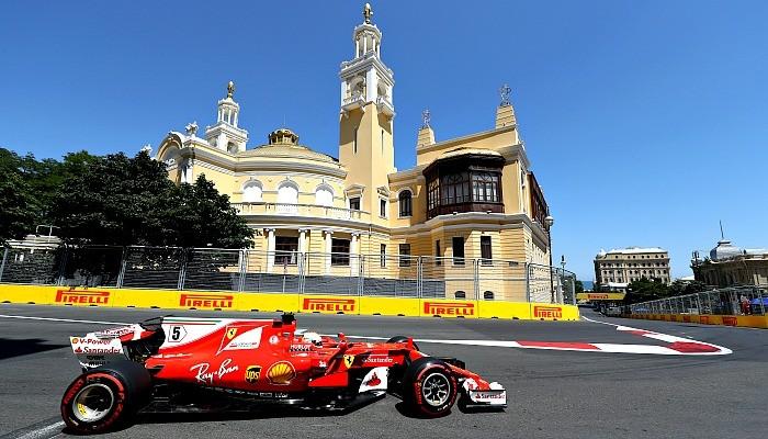 Sebastian Vettel larga em quarto no GP do Azerbaijão