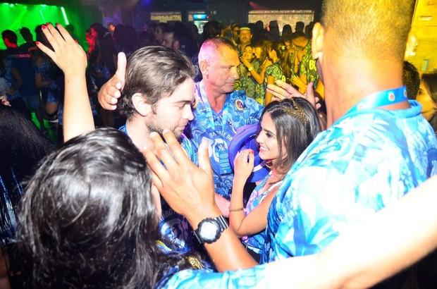 Chace Crawford e Manu Gavassi (Foto:  Felipe Assumpcao e Henrique Oliveira / AgNews)