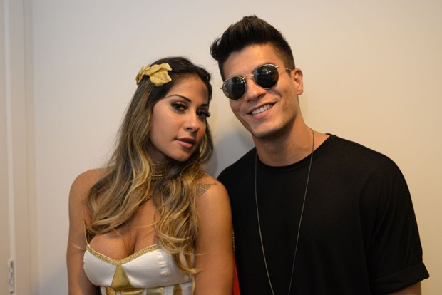 Mayra Cardi e Arthur Aguiar (Foto: Davi Magalhães/Ed. Globo)