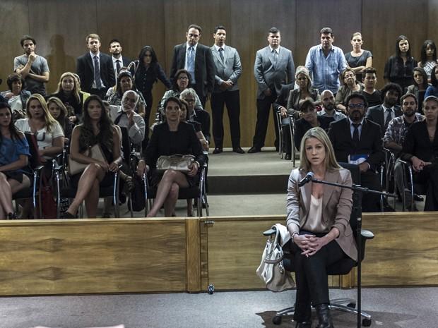 Não perca as emoções do julgamento de Edu, no último episódio do seriado (Foto: Estevam Avellar/Globo)