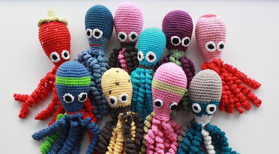 Polvos de crochê precisam ser 100% algodão e não ter tentáculos com mais de 22cm (Foto: Reprodução)