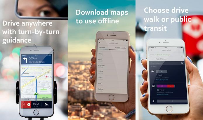 HERE Maps coloca os mapas da Nokia em seu gadget (Foto: Divulgação/AppStore)