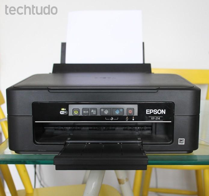 Epson XP-214 (Foto: Mariana Coutinho/TechTudo)