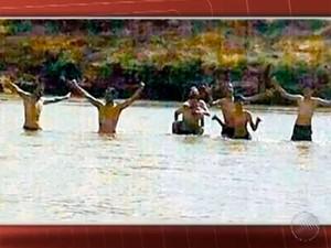 Grupo de amigos morre afogado na Bahia (Foto: Imagens/TV Bahia)