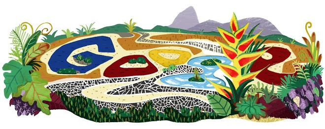 8-doodle-google-102-aniversario-paisagista-burle-marx (Foto: Reprodução/Google)