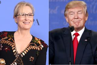 Meryl Streep e Donald Trump (Foto: AFP/Reuters)