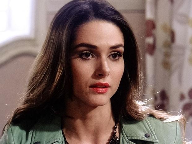 Leila é capaz de humilhar a irmã autista (Foto: Amor à Vida/TV Globo)