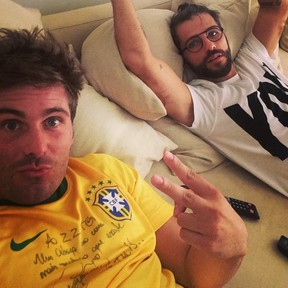 Thiago e Bruno Gagliasso (Foto: Instagram / Reprodução)