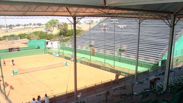 Copa Davis Rio Preto - Harmonia Tênis Clube (Foto: Marcos Lavezo / Globoesporte.com)