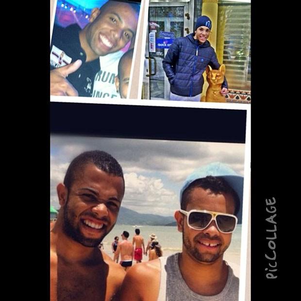 Dentinho parabeniza o irmão Danilo pelo seu aniversário (Foto: Reprodução / Instagram)
