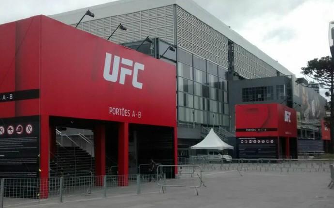 Arena da Baixada Atlético-PR UFC 198 (Foto: Fernando Freire)