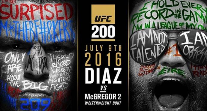 Poster McGregor x Diaz 2 (Foto: Reprodução/ Instagram)