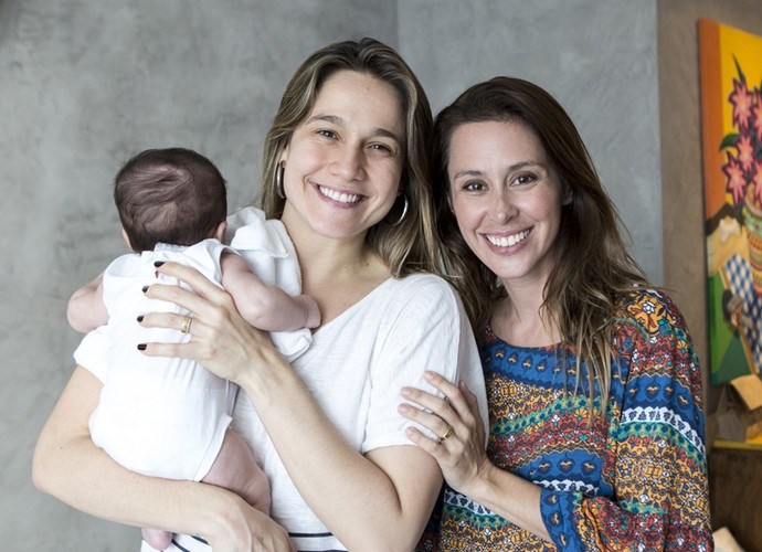 Dani Monteiro vai até a casa de Fernanda Gentil conversar sobre maternidade (Foto: Ellen Soares/Gshow)
