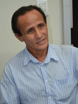 presidente da Federação de Karate Interestilos de Roraima, Autidones Alves (Foto: Alberto Rolla/GLOBOESPORTE.COM)