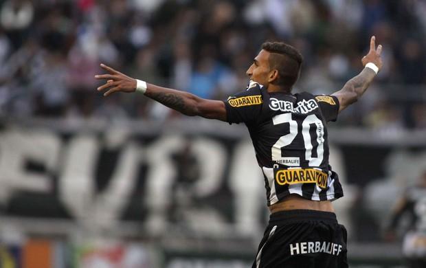 Rafael Marques gol Botafogo (Foto: Marcos Bezerra / Ag. Estado)