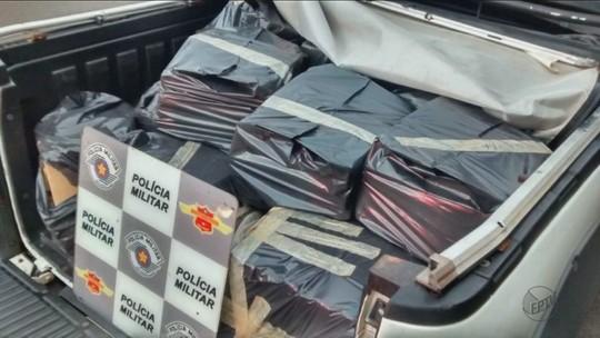 Polícia Rodoviária apreende 373 quilos de maconha em carro e prende rapaz