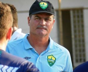 Mazola Júnior, treinador do Cuiabá (Foto: Assessoria/Cuiabá Esporte Clube)