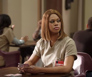 Laverne Cox em cena de 'Orange is the new black' | Reprodução