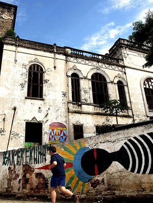 Museu do Índio próximo ao Maracanã no Rio de Janeiro (Foto: Marcos de Paula / Ag. Estado)