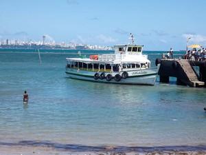 Travessia para Mar Grande encerra operação às 18h (Foto: Divulgação/Astramab)