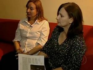 Irmãs que moram no Rio Grande do Sul  (Foto: Reprodução/TV Globo)