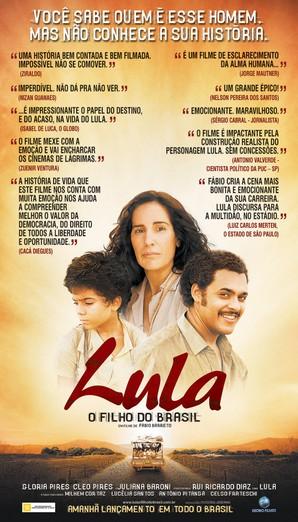 frases sobre Lula, o Filho do Brasil