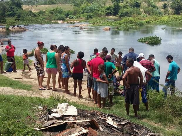 Adolescente morreu afogado no Rio de Contas (Foto: Site Giro Ipiaú)