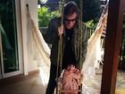 Mari Alexandre mostra foto de Fábio Jr com o filho: 'Felicidade sem fim'