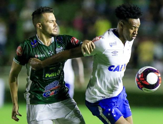 Uberlândia x Cruzeiro; Fabrício