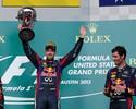 Pacotão: Vettel touro brabo, Grosjean 'cowboy', e Alonso tri vice nos EUA