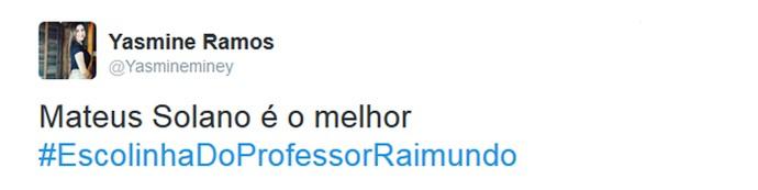 Internautas comentam Escolinha do Professor Raimundo (Foto: Reprodução)