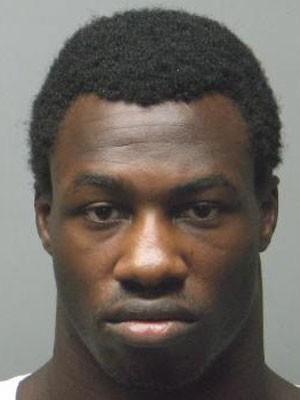 """Michael """"Tiger"""" Johnson ao ser preso nos EUA (Foto: Divulgação/St Charles Police Department)"""