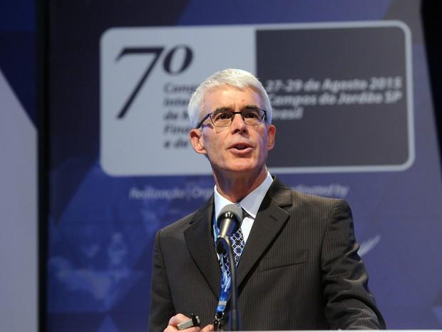 Darrell Duffy, professor de finanças da Universidade de Stanford (Foto: Luiz Prado / Agência LUZ/ BM&FBOVESPA)