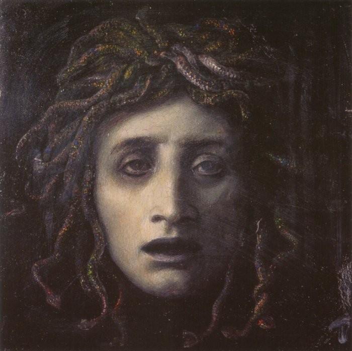 Medusa, da mitologia grega (Foto: Wikimedia/Arnold Böcklin)