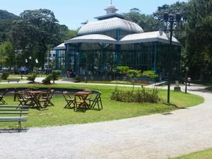 Palácio de Crital é  (Foto: Divulgação/Camila Thees)