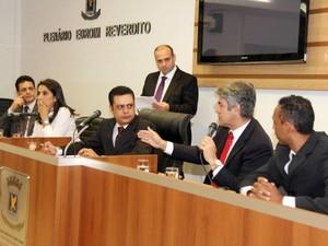 Vereadores definem estratégias da CPI da saúde em Campo Grande (Foto: Izaias Medeiros/Câmara Municipal)