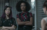 Tina, Ellen e Benê falam sobre Keyla