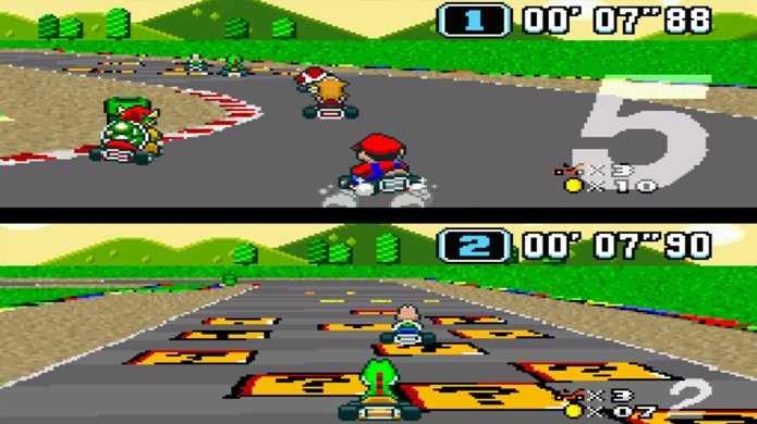Super Mario Kart começou uma febre com jogos de corrida divertidos para o Super Nintendo (Foto: Reprodução/Nintendo Life)