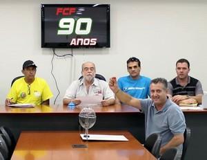 Sorteio arbitragem Campeonato Catarinense (Foto: Divulgação/FCF)
