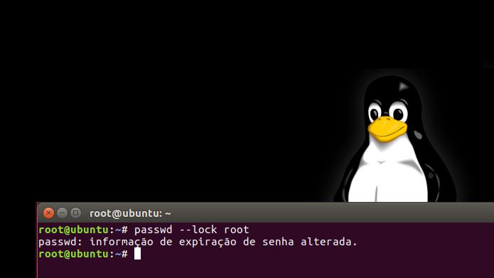 Descubra como desativar a conta de root (administrador) no Linux (Foto: Reprodução/Edivaldo Brito)