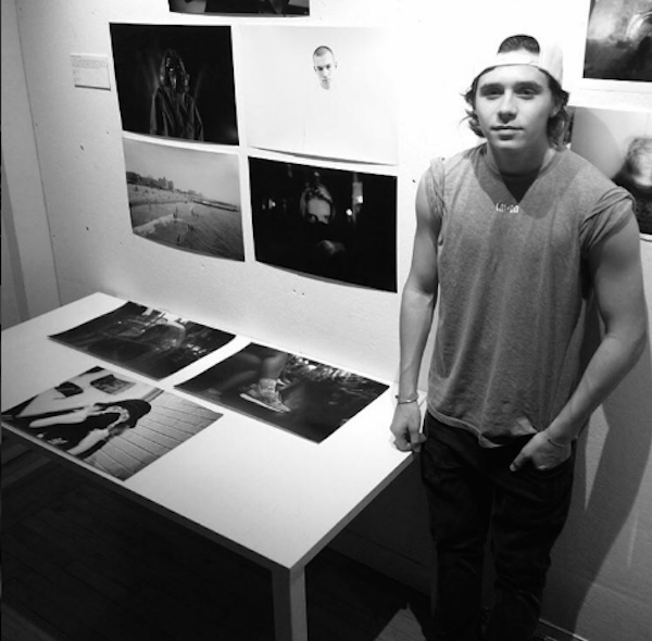 O jovem Brooklyn Beckham (Foto: Instagram)